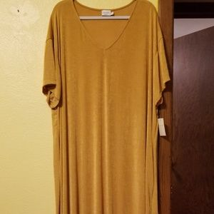 Crescent Drive V-Neck Dress